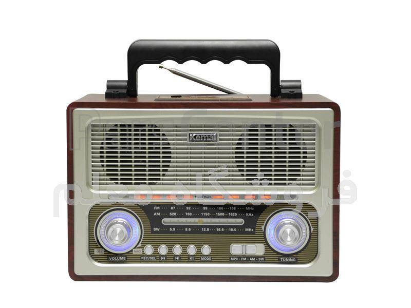 رادیو طرح قدیمی مدل MD-1800UR Kemai