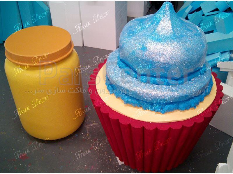 قیمت فوم ماکت کیک