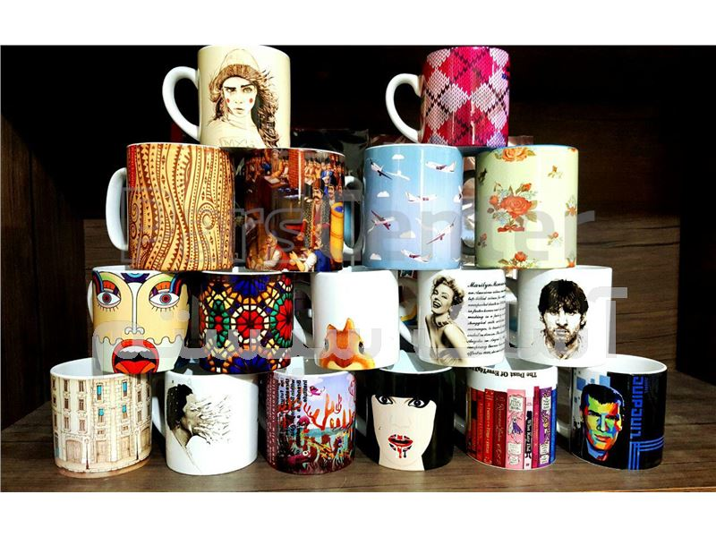 چاپ لیوان و ماگ تبلیغاتی، هنری با طرح های متنوع و اختصاصی شما