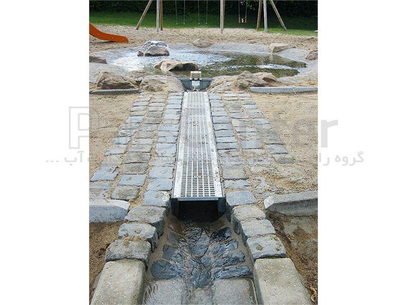 کانال پیش ساخته آب با گریتینگ گالوانیزه 40672