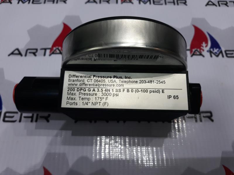 گیج اختلاف فشار DP مدل 200DPG