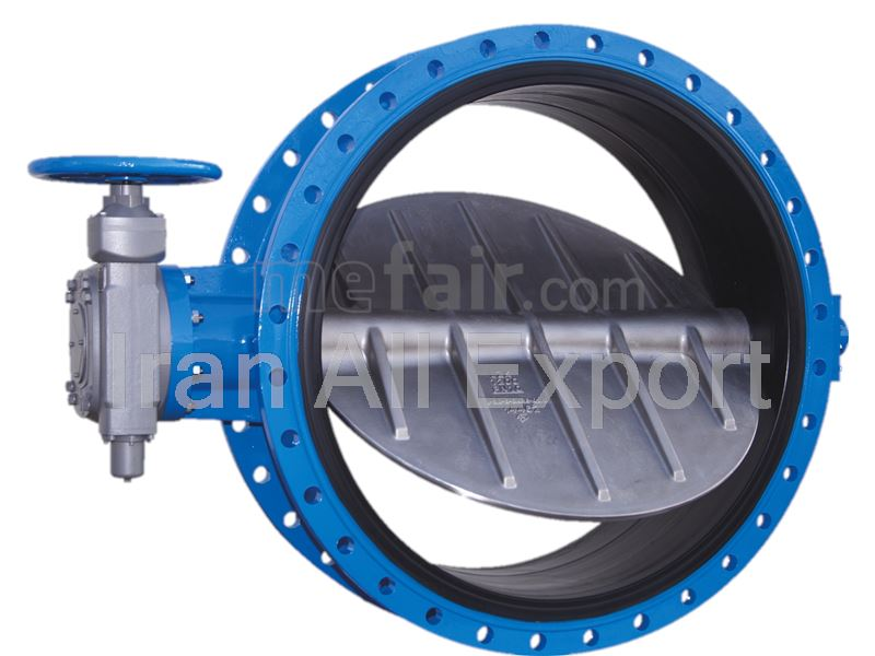 Butterfly Valve and Flanges from Iran to Turkmenistan