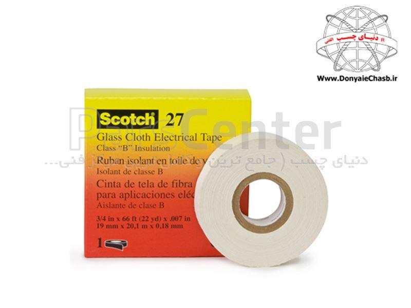 چسب نواری الکتریکی نسوز 3M Scotch 27  آمریکا