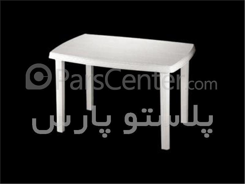 میز پلاستیکی مستطیل 6 نفره 75*115-کد101821