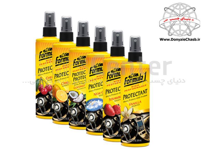 اسپری های معطر محافظ داشبورد  Formula 1  Fragranced Protectant آمریکا