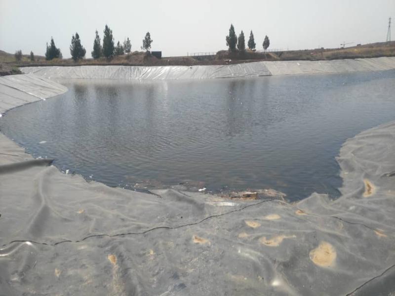 ساخت استخر ذخیره آب کشاورزی - شهر جدید پرند