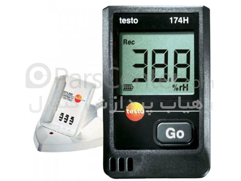 دیتالاگر دما و رطوبت تستو آلمان مدل Testo 174H