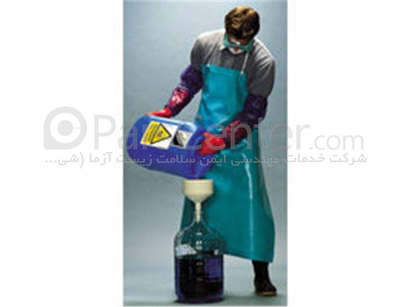 پیشبند مقاوم مواد شیمیایی اسید و حلال های نفتی Ansell