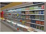 یخچال پرده هوا فروشگاهی،یخچال هایپر مارکت