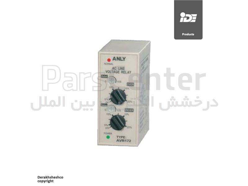 کنترل فاز (سه فاز) مدل AVR172 شرکت آنلی | ANLY