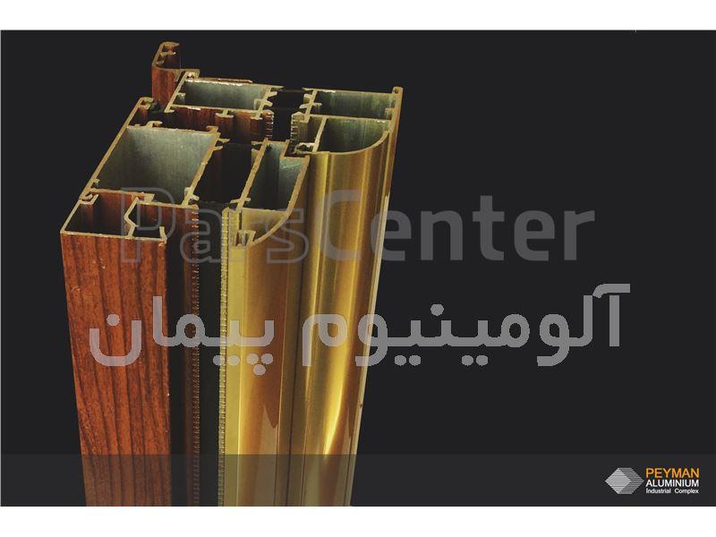 درب و پنجره های دو جداره طرح چوب