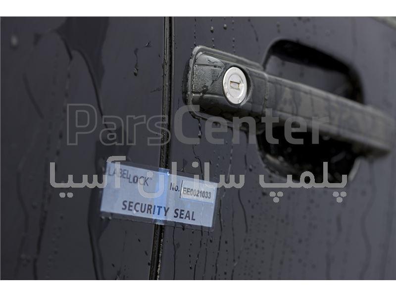 پلمپ برچسبی بدون اثر استاندارد درب خودرو