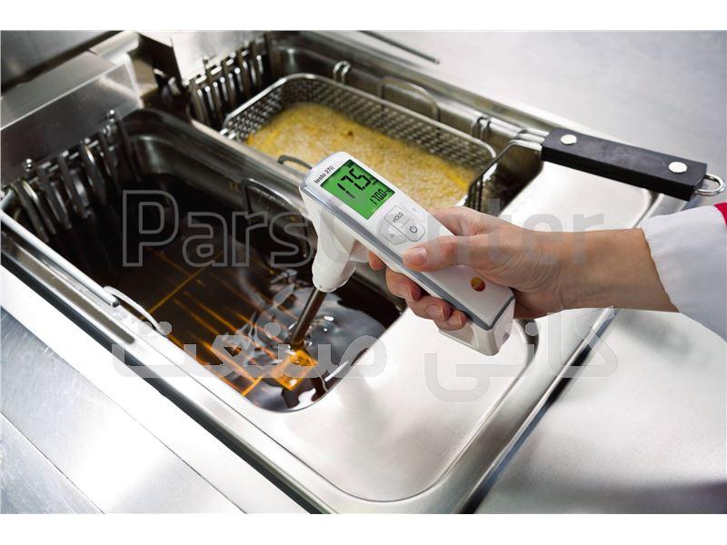 سنجش کیفیت روغن های خوراکی از طریق دستگاههای TPM متر