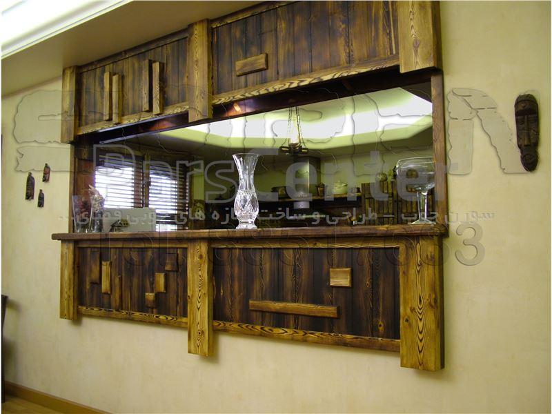 طراحی کانتر های چوبی