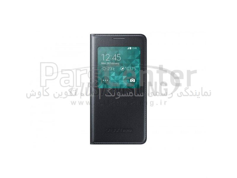 Samsung Galaxy ALPHA S View Cover Black اس ویو کاور مشکی گلکسی آلفا سامسونگ
