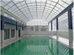 سقف ثابت استخر شنای عمومی شمار 3 مجتمع آبدرمانی وله زیر ( مشگین شهر)