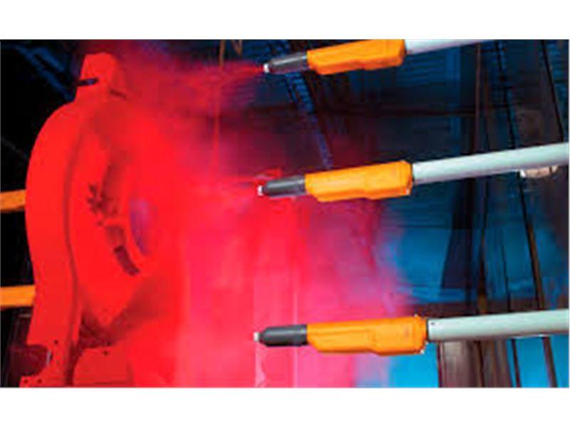 آتش فام سازنده تجهیزات خط رنگ پودری الکترواستاتیک- سازنده کوره های تفلون - خدمات رنگ پودری ( الکترواستاتیک ) آتش فام