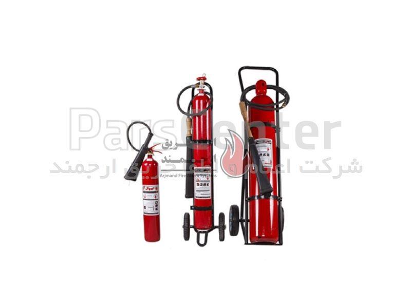 کپسول آتشنشانی گاز C02