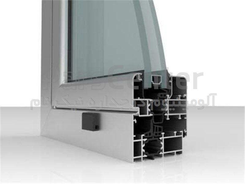 پنجره دوجداره الومینیوم ترمال بریک