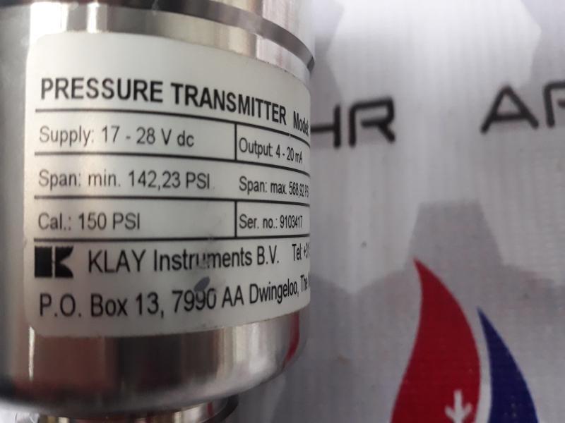پرشر ترانسمیترKLAY مدل Cer-8000