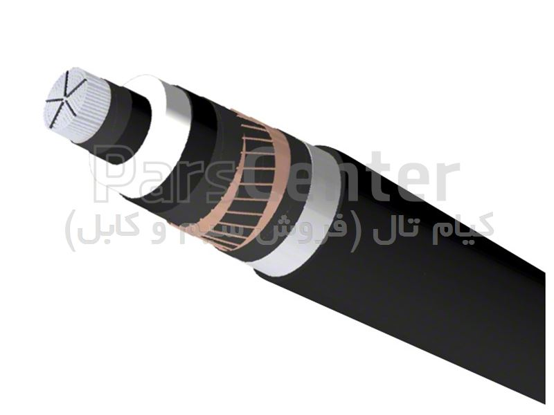 کابل قدرت تک رشته ضد آب N2XS(FL)2Y