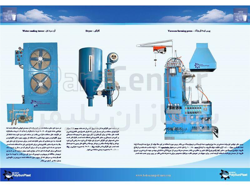 دستگاه ظروف یکبار مصرف نیمه فرمینگ