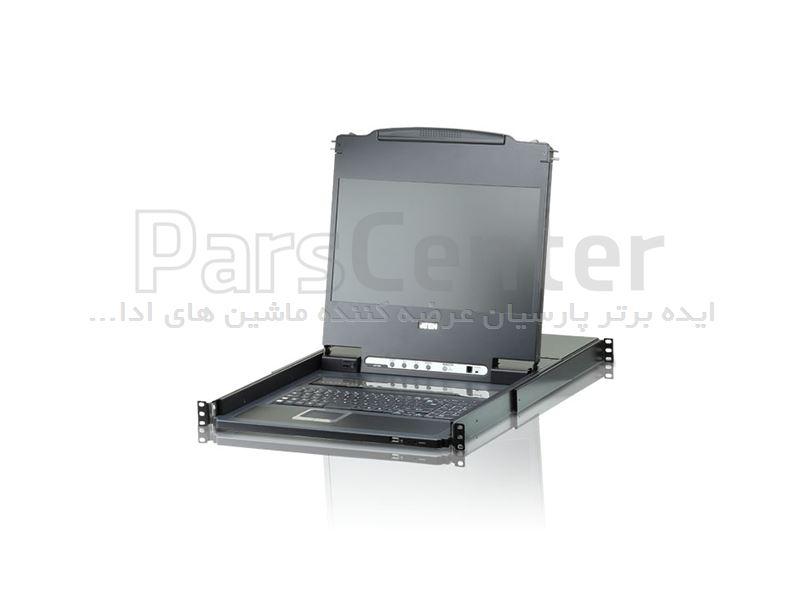 ال سی دی کنسول دراور آتن ATEN LCD KVM switch CL6708
