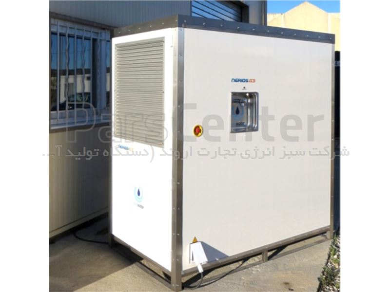 دستگاه تولید آب از هوا 800 لیتری خورشیدی - NERIOS.S10