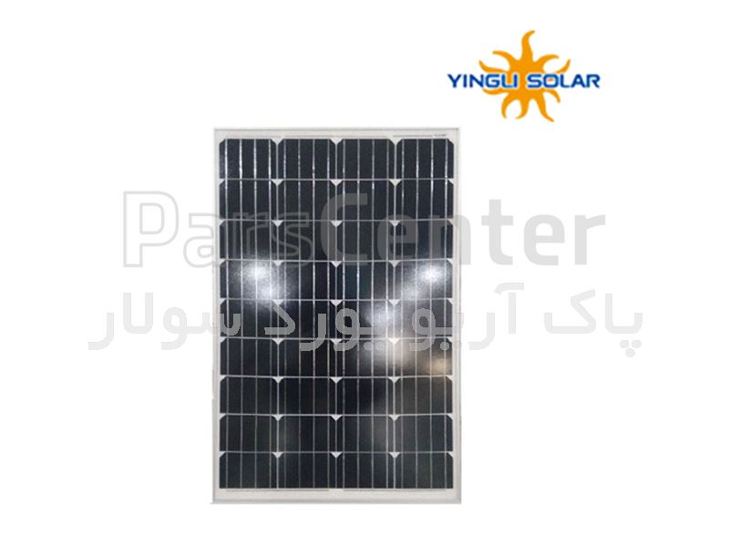 پنل خورشیدی ینگلی 100وات مدل JS 100 (series)