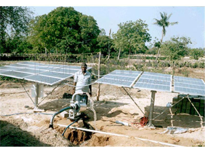 پمپ آب خورشیدی سه فاز (22کیلووات /30اسب بخار)3اینچ با آبدهی 15مت مکعب وعمق چاه 224متر(همراه پنل خورشیدی)