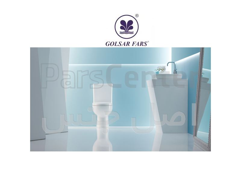 توالت فرنگی مدل یونیک گلسار