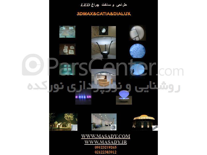 طراحی و ساخت انواع چراغ و پروژکتور و والواشر و دفنی ledو smd و cob