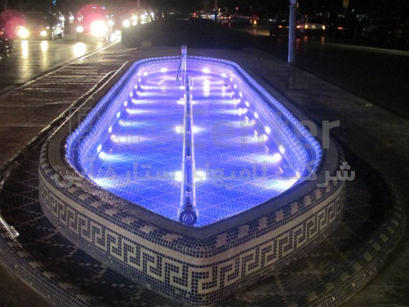 چراغ استخر ال ای دی ضد آب