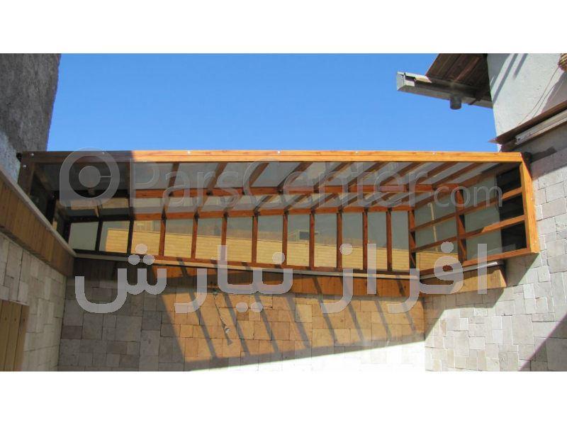 سقف متحرک نورگیر با ریموت کنترل(کرمان)