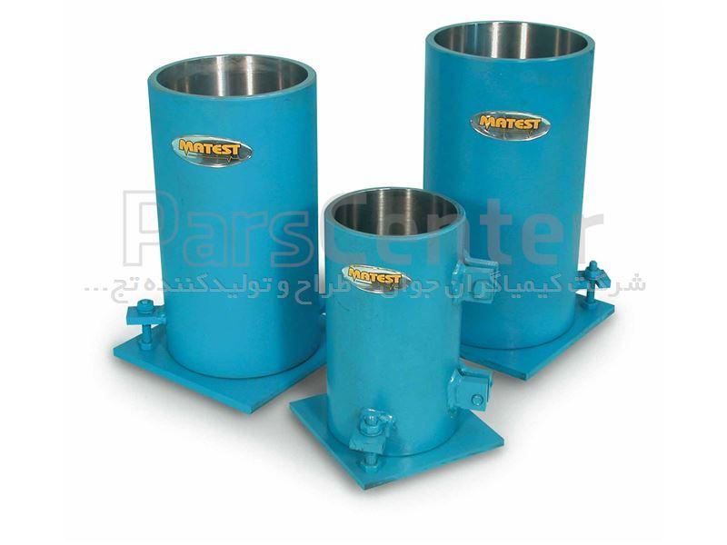 شرکت کیمیاگران جوان - تجهیزات آزمایشگاه مکانیک خاک|تجهیزات ...قالب استوانه ای بتن پلاستیکی 3 اینچی