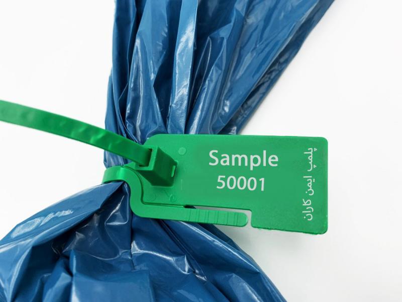 پلمپ پلاستیکی با قفل پلاستیکی 20 سانتی متر-شرکت ایمن کاران