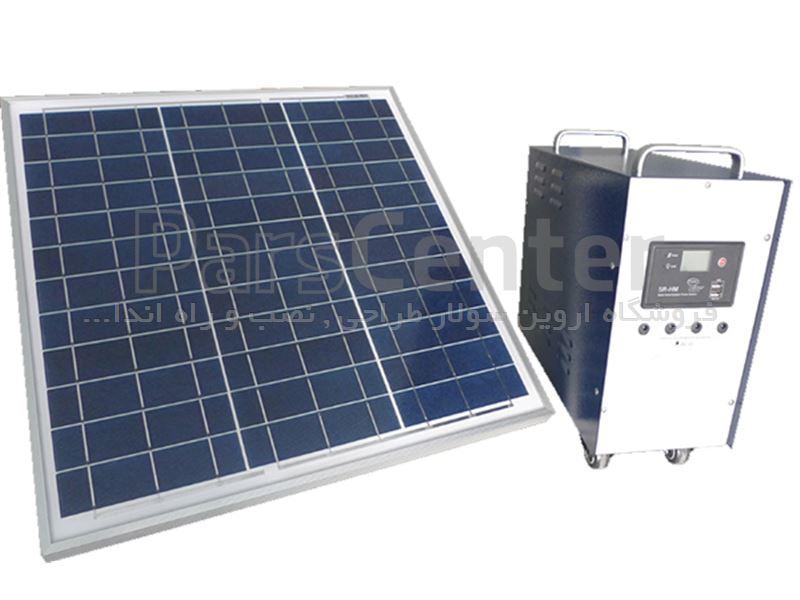 پکیج برق خورشیدی 600 وات Yingli Solar