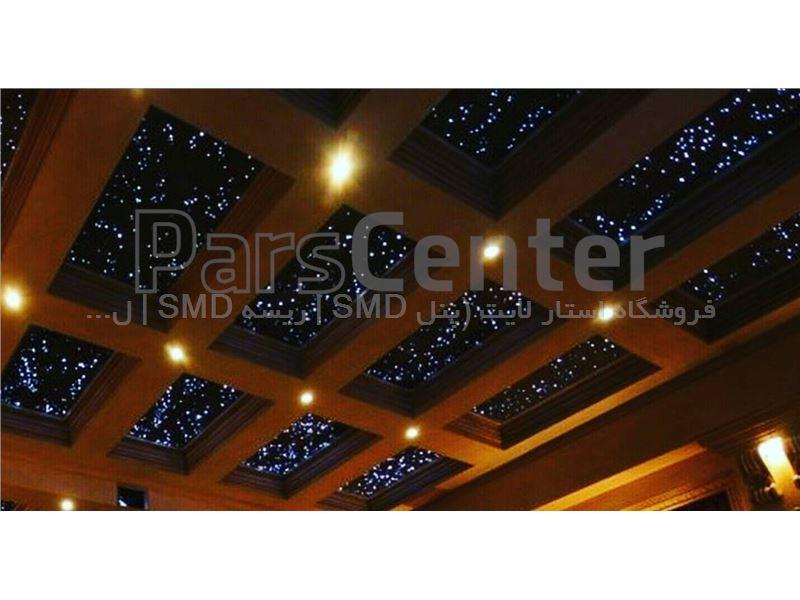 اجرای نورپردازی فیبر نوری و مینی دات