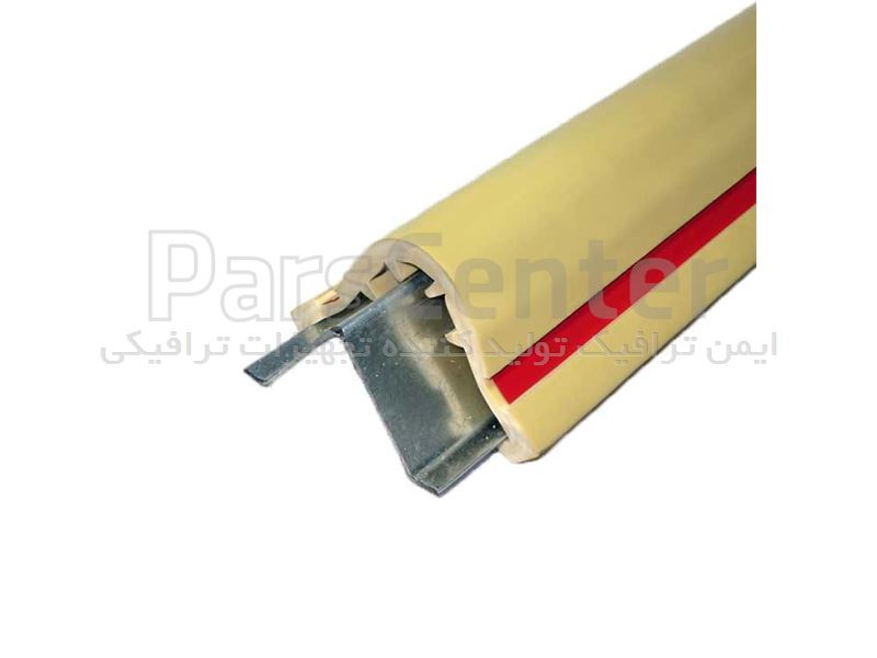 ضربه گیر ستون PVC با فریم گالوانیزه