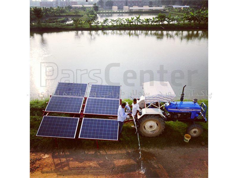 پمپ آب خورشیدیQDX7-18-0.75FH