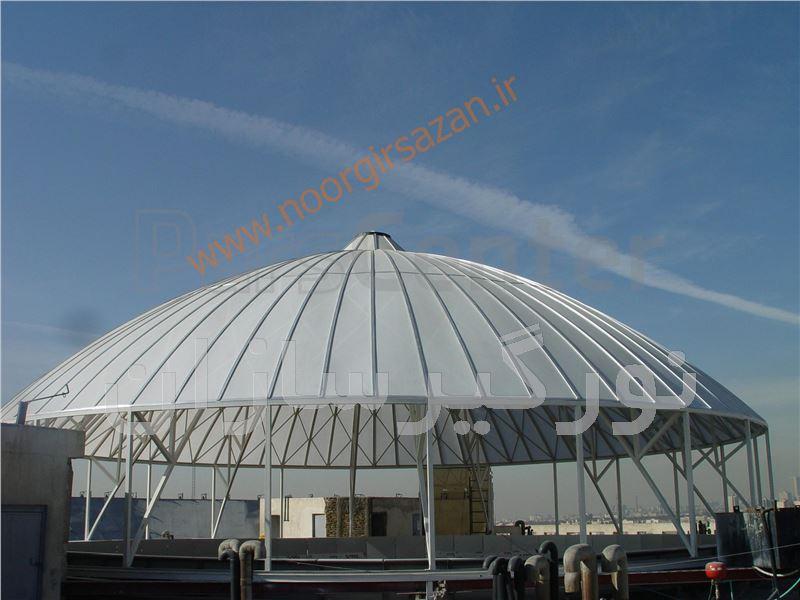 پوشش نورگیر ساختمانی مراکز تجاری(پاساژها و...و)
