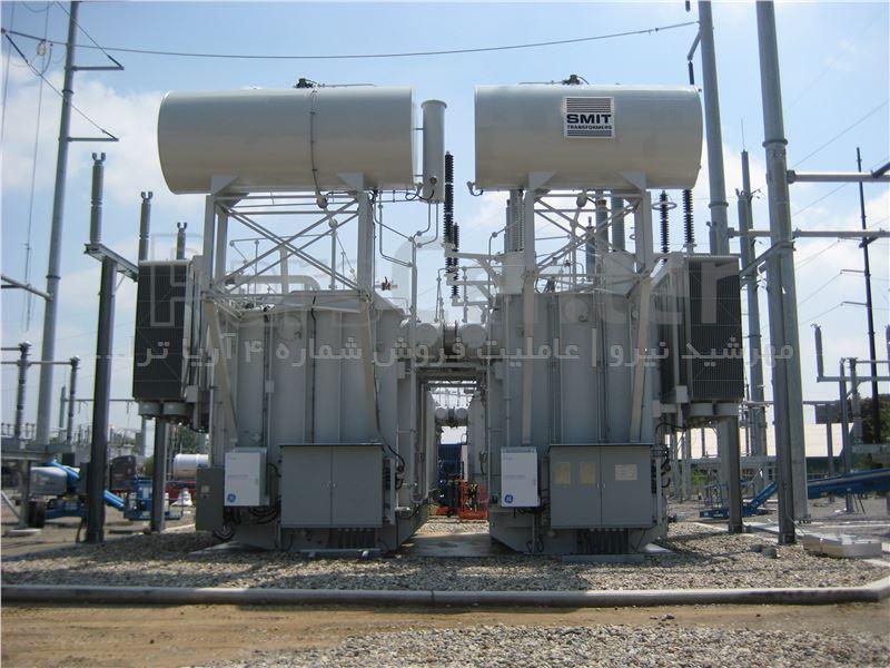 ترانسفورماتورهای فوق توزیع و ترانسفورماتور قدرت