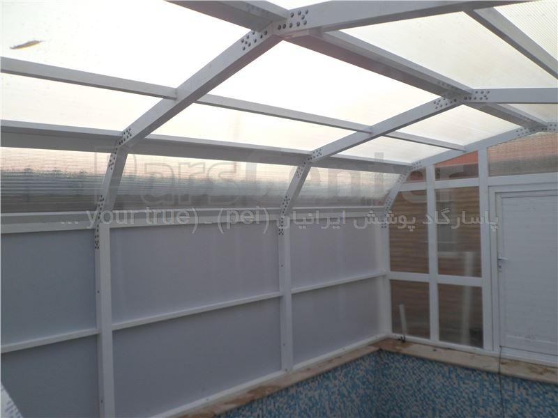 پوشش ثابت سقف و سالن استخر -دماوند - آیینه ورزان