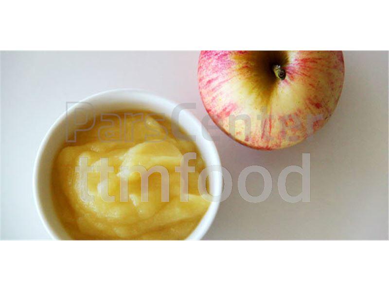 پوره سیب اسپتیک با بریکس بالا