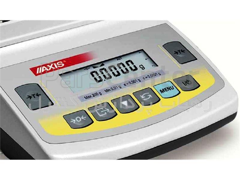 ترازوی دقیق دیجیتالی مدل BTA 2100 D  ساخت کمپانی AXIS لهستان