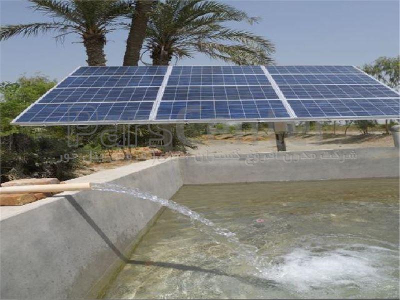 پمپ آب خورشیدی 1/1.4 اینچ  104 متری