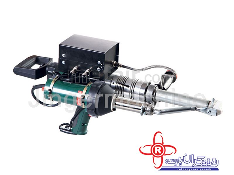 Extruders welding machine