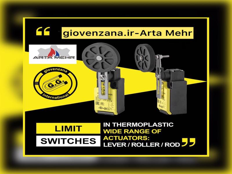 لیمیت سوئیچ Limit Switches - Giovenzana