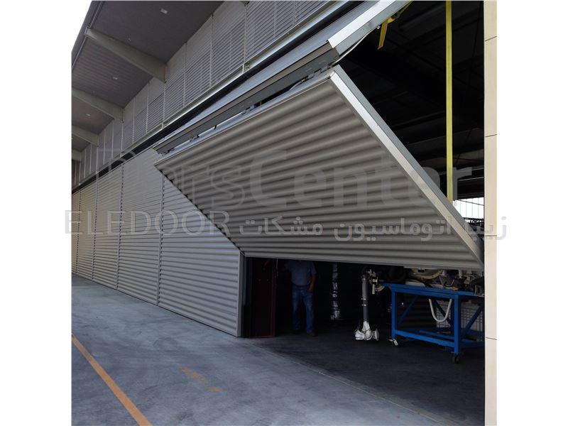 درب بای فولد صنعتی (مدل BFI)