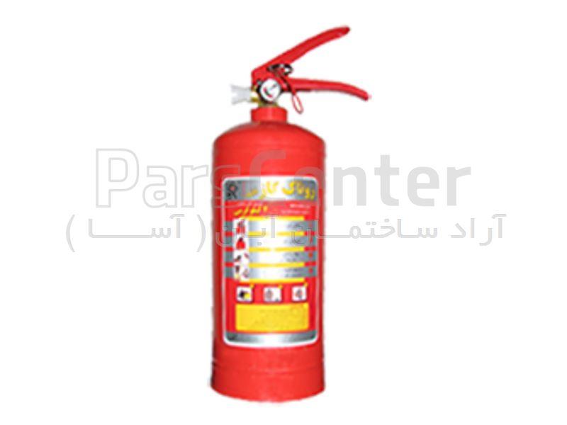 کپسول آتش نشانی پودر و گاز روناک گاز 1 کیلوگرمی